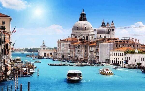 Grand Canal, Venice , Italy ...