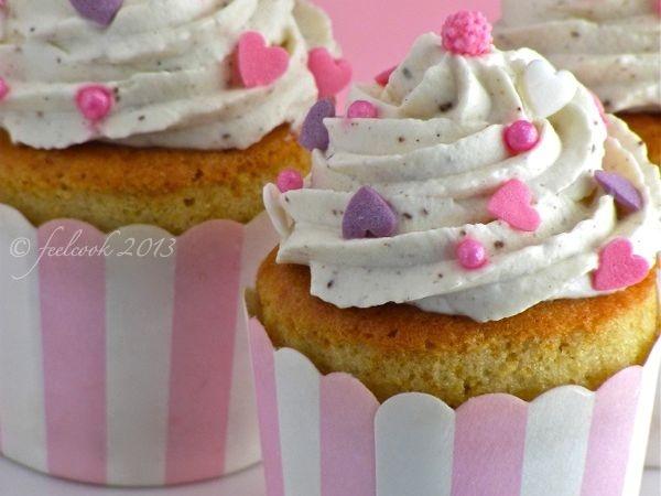 Ricetta per fare #cupcakes alla #vaniglia @guarnireipiatti