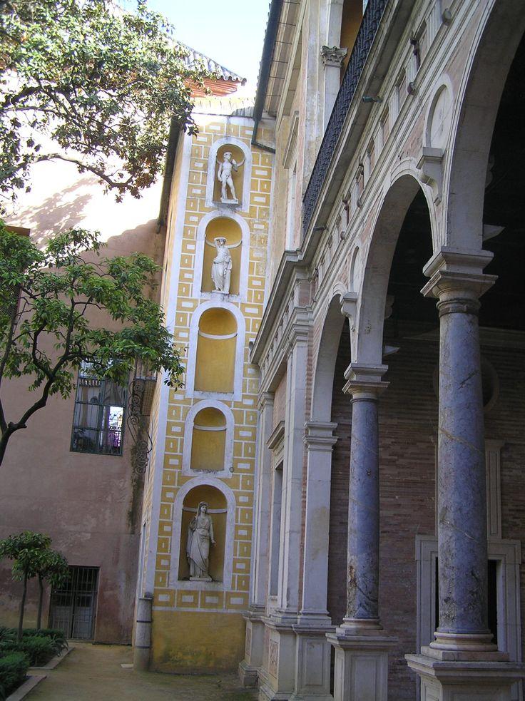 Sevilla. Casa de Pilatos.