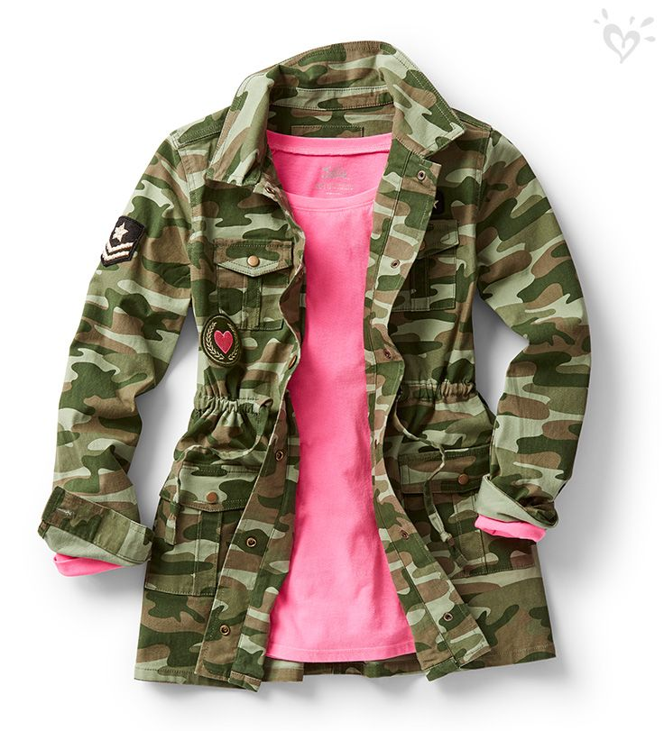 At the heart of the military trend is the individuality you bring to it!