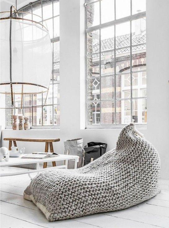 Pouf design Nest Zilalila