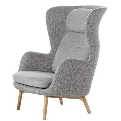 Fotel Fritz Hansen zaprojektowany przez Jamie Hayon from http://www.room21.no/  Fritz Hansen chair, designed by Jamie HAYON  #grey #chair #fritzhansen #jamiehayon #norway #room21