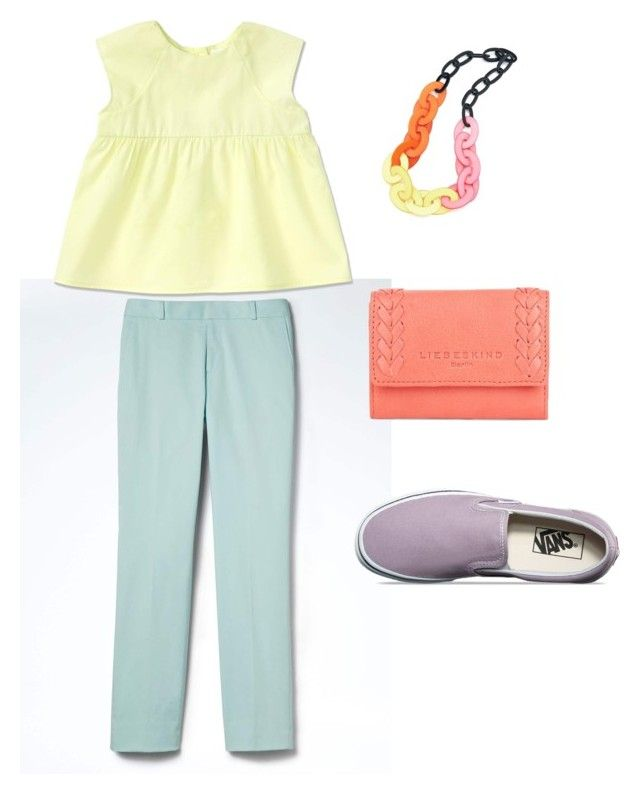 Квадрат by explorer-14993517701 on Polyvore featuring мода, Banana Republic, Vans and Liebeskind