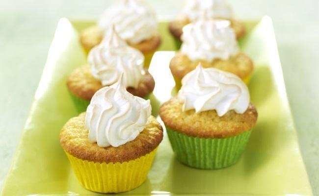 Citroencupcakes met citroen meringue recept   Dr.Oetker