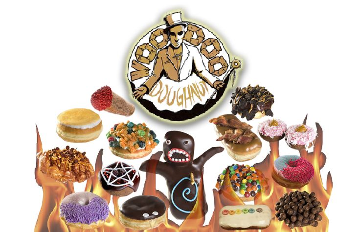 Voodoo Doughnut - The Magic is in the Hole!!! Can't wait to have a Mango Tango!! #pinkbox Portland, OR