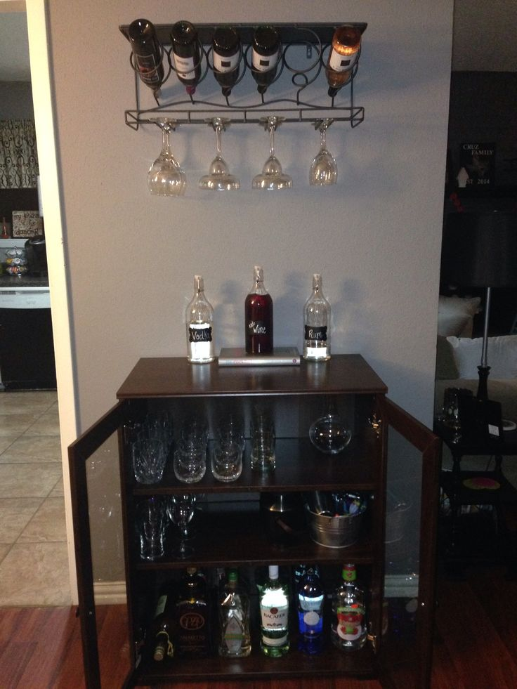 This is a sweet at home bar  The cabinet is from ikea   85. Best 10  Liquor cabinet ikea ideas on Pinterest   Small liquor