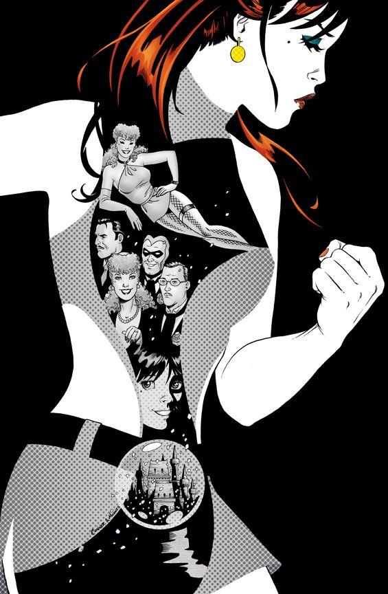Before Watchmen | DC Comics | Silk Spectre  Amazing artwork