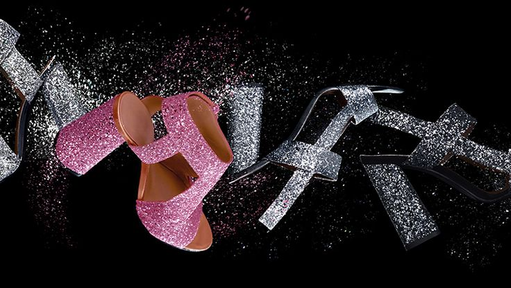 Sparkly shoes are a major fashion trend right now. #Raoul new shoe collection is made in Italy and full of sparkles. Pink, Silver and Gun Metal sparkly shoes will look fabulous on your feet and in your closet.