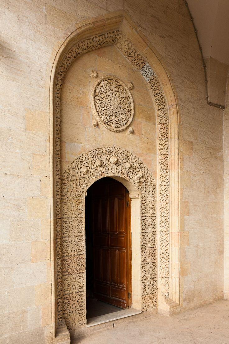 Beautiful old world 'class' Entrance Of a Medresa, Mardin, Turkey