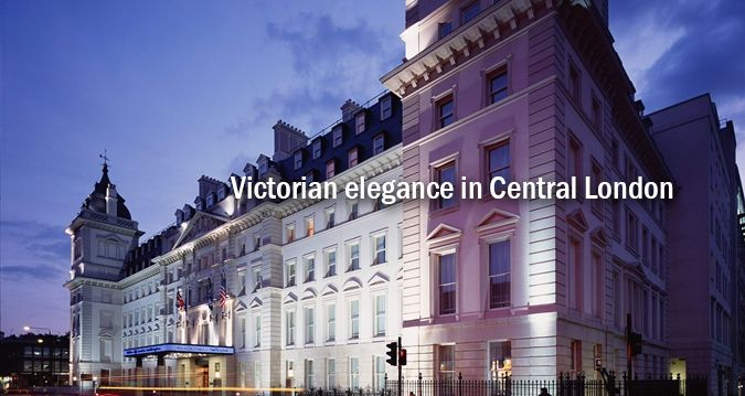 Hilton London Paddington hotel - can be stupidly expensive at times, but you will not find a more convenient location. You get off the Heathrow Express and you're literally at your hotel. It's connected to Paddington Station