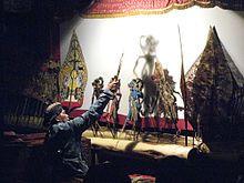Wayang Kulit shadowplay performance in Yogyakarta