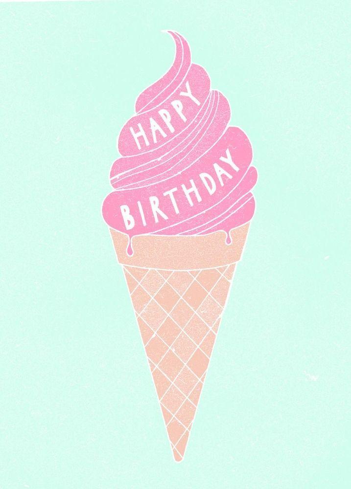 Happy birthday | icecream