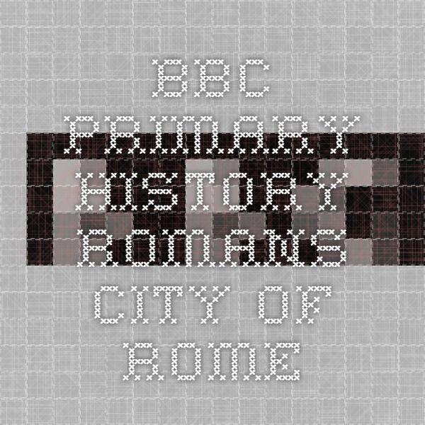 BBC - Primary History - Romans - City of Rome