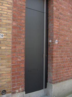 Mooie strakke voordeur!