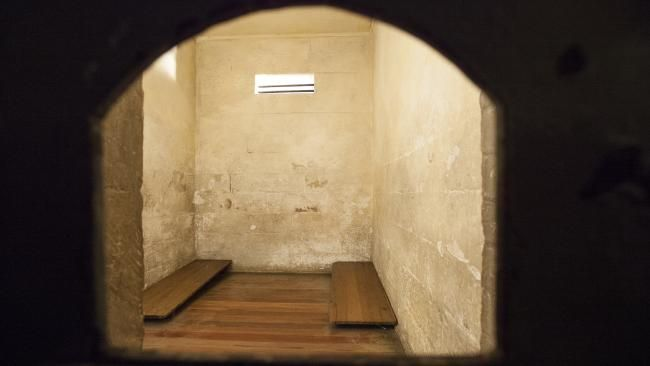 Sydney's Justice & Police Museum still has the old police holding cells open for public view. Picture: James Horan