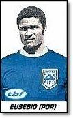 Eusebio.1963. FIFA Resto del Mundo frente a Inglaterra.