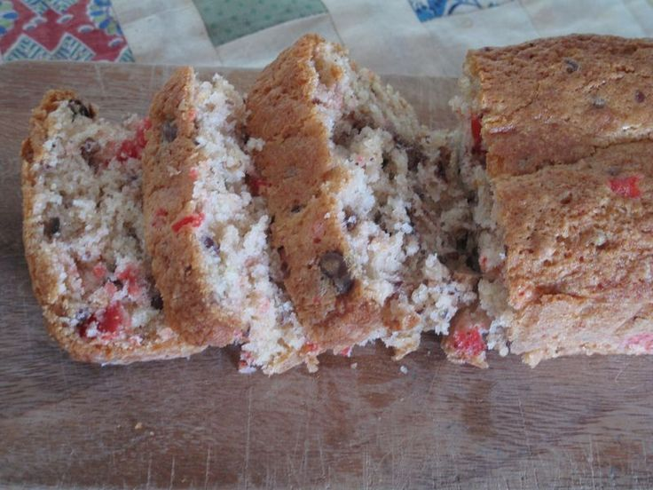 Cherry Chip Loaf- Like the recipe from my favorite movie 12 Dates of Christmas