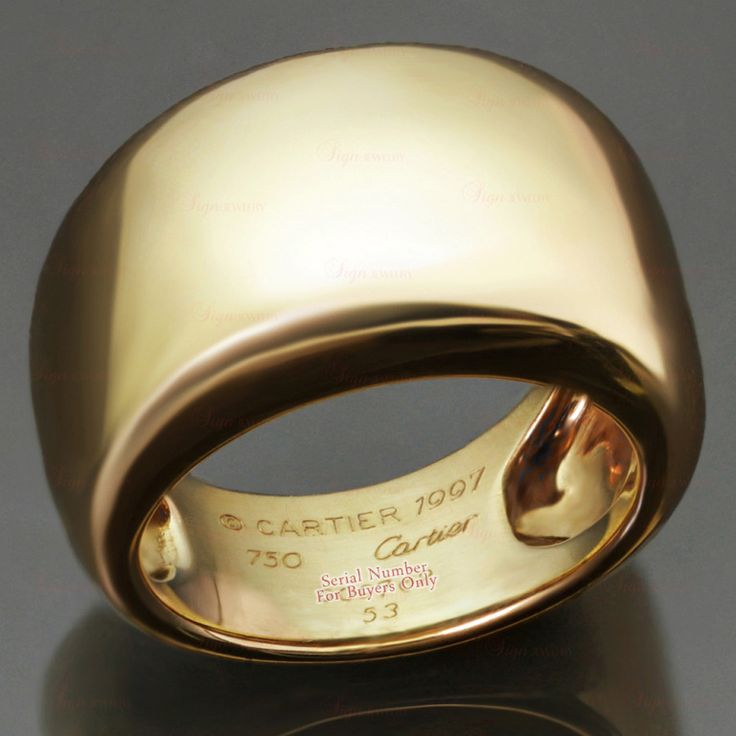 Cartier Yellow gold band