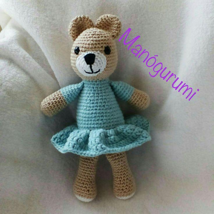 Cute crochet bear - amigurumi