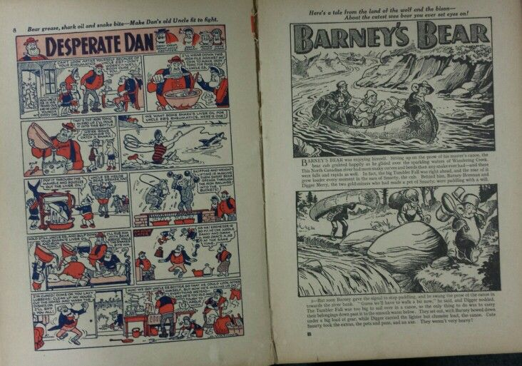 Dandy Book 1953 - Pg 8 and 9