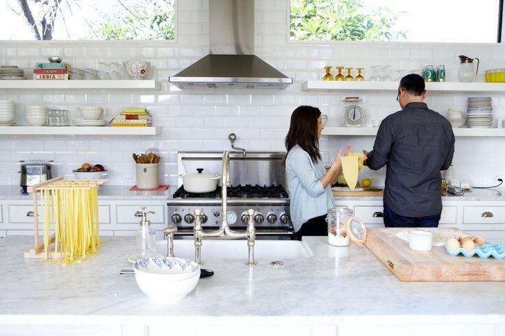 Love & Lemons couple make homemade pasta