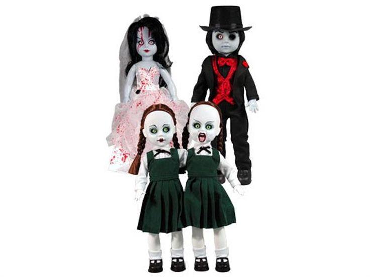 living dead dolls series sets | ... Series 04 - Set of 4 - Living Dead Dolls Resurrection Series