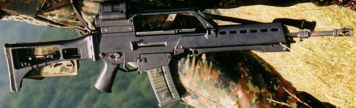 G36 assault rifle ditched by German military Surplus Store