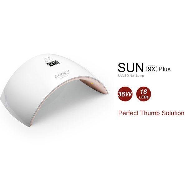 SUNUV SUN9x Plus 36W 18Leds Perfect thumb solution