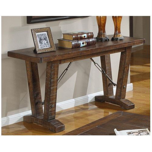 Sofa Table Ideas: 17 Best Ideas About Rustic Sofa Tables On Pinterest