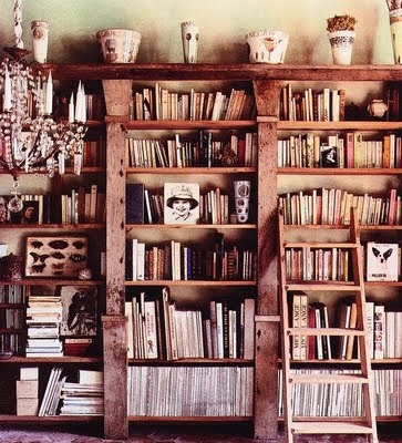 The Bottom of the Ironing Basket: The reading room.....