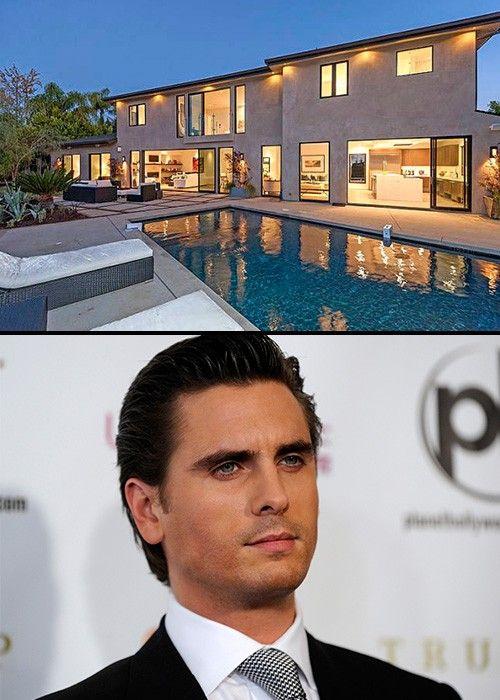 Scott DisickEl amor de Kourtney Kardashian compró esta casa con 5 habitaciones por 3.7 millones de dólares.
