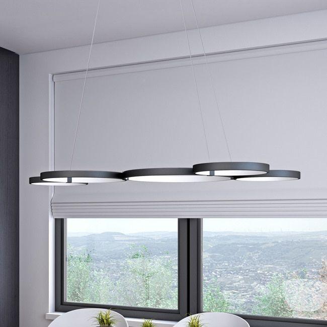 VONN Lighting VTC3555BL Capella 50″ Color Changeable LED Chandelier Black   Overstock.com Shopping – The Best Deals on Chandeliers