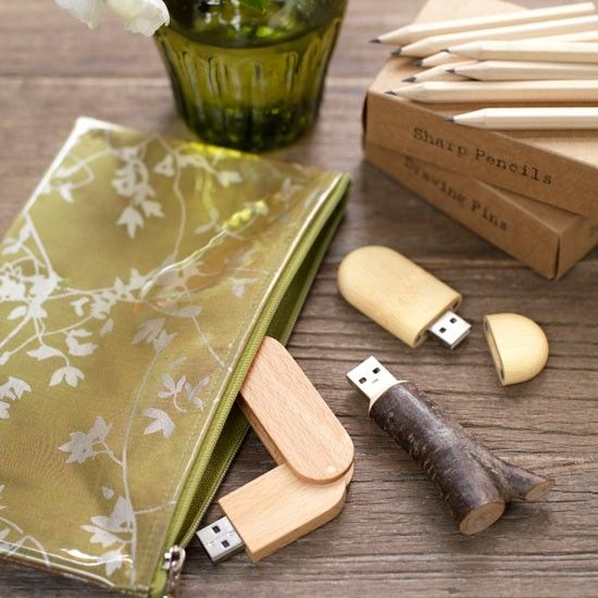 Keep memory sticks safe | Home office organising - 10 country-style ideas | housetohome.co.uk