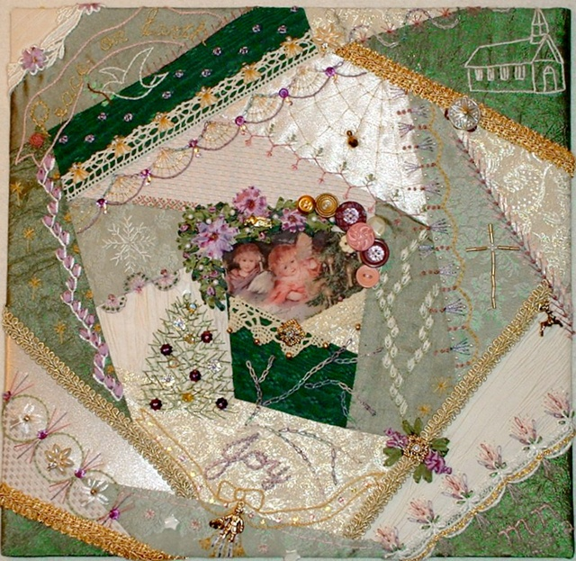 Star Quilt Embroidery Design : 1564 best Crazy Quilting/Embroidery images on Pinterest ...