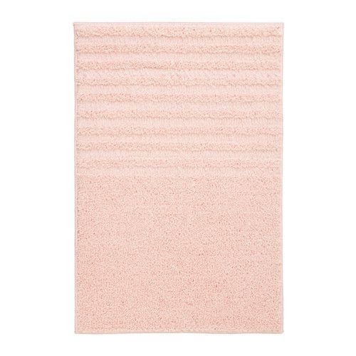 Ikea Voxsjon Dywanik łazienkowy Blado Różowy 40x60 Różowe