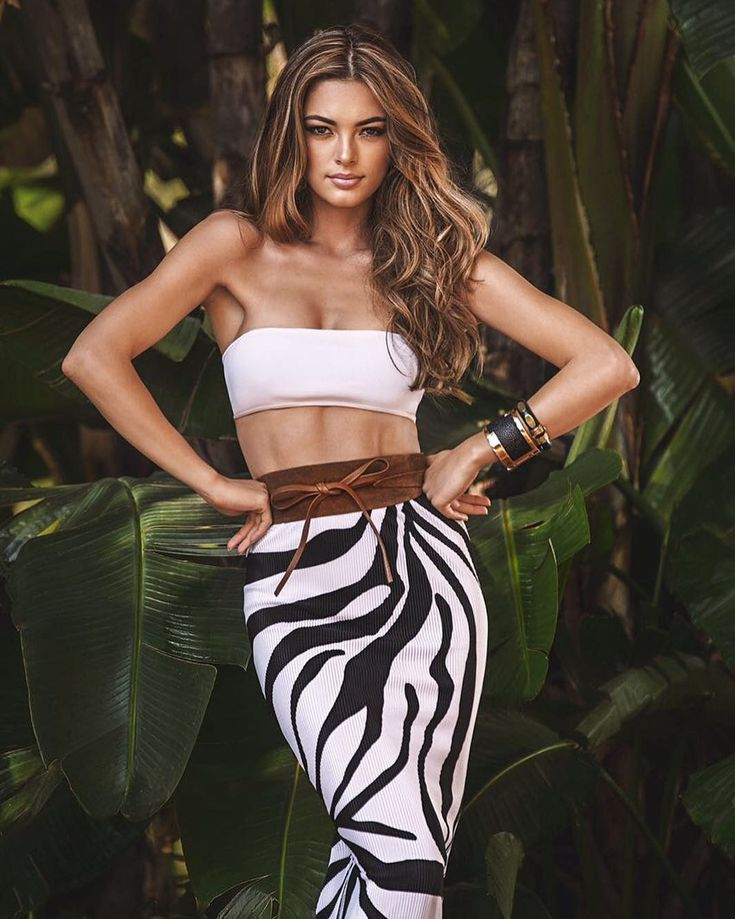 Yet another South African winner for Miss Universe, Demi-Leigh Nel-Peters, 2017