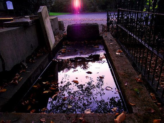 Watery Grave Photograph New Zealand Cemetery by KarenLawsonArt, $22.00