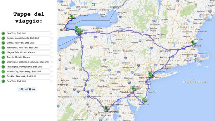 itinerario nord est stati uniti due settimane new york boston buffalo cascate del niagara toronto washington philadelphia atlantic city