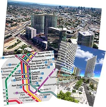 Anthony John Group proposed The Boulevard at Buranda transit orientated development as part of #Parsons Brinckerhoff engagement team