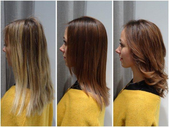 Kajsa ville ha en hårfärg att synas i • Colorista - Colorista