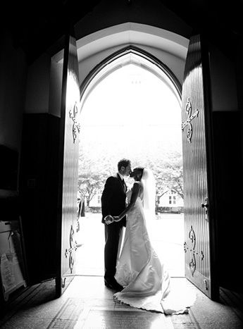 Great photo idea- Eli Turner Studio Classic Washington DC Wedding Bride Groom Kiss 275x372 Astrid + Mahers Classic Wedding in Washington, DC