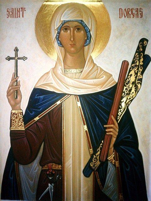 Αγία Ταβιθά St. Dorcas (known as St. Tabitha the Widow) feast day - October 25
