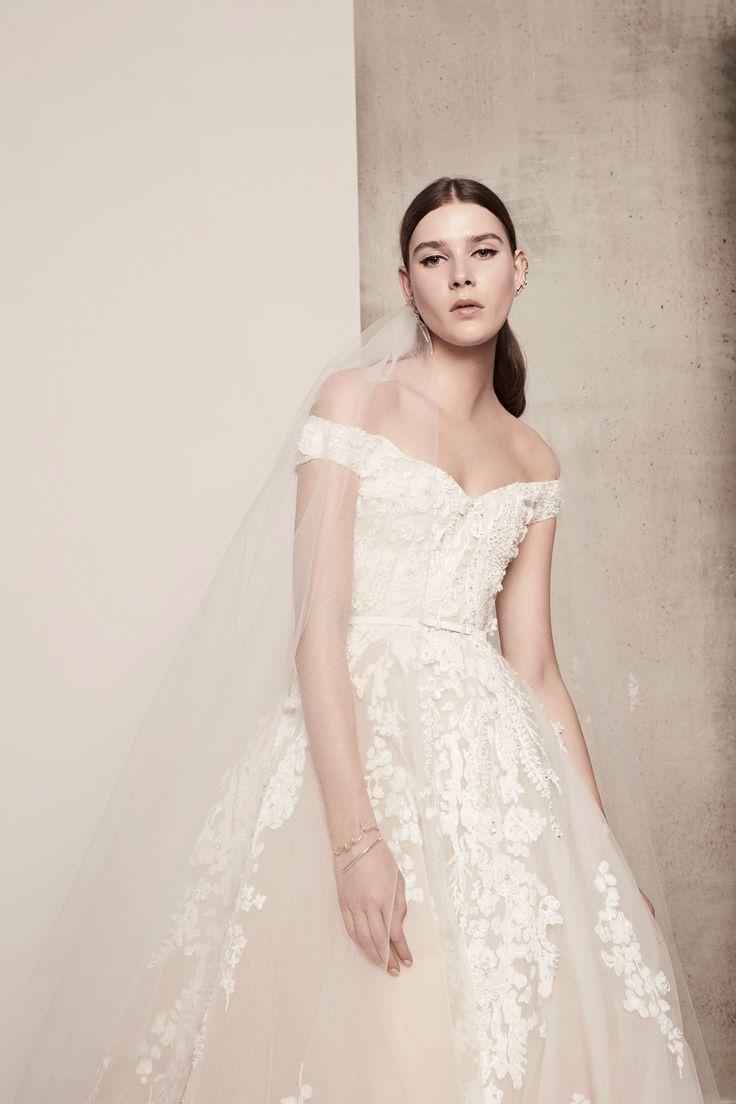 elie saab bridal elie saab wedding dress Elie Saab Bridal Spring Collection Photos Vogue