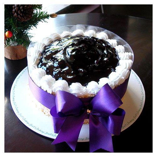 Blue_Berry cake decoration