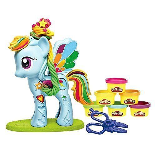 Pour Suzanne pâte à modeler + my little pony