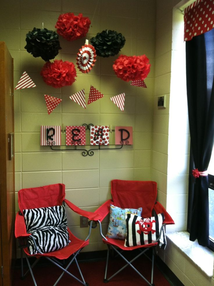 Red Classroom Decor ~ Best red and black classroom images on pinterest