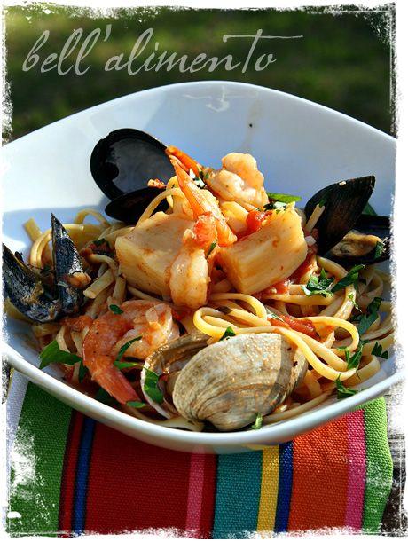 Seafood Linguine | bell' alimento