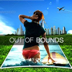 Out of Bounds Frame Effect Photoshop Tutorials psd-dude.com Resources