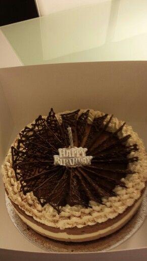 Triple Chocolate Cheesecake..