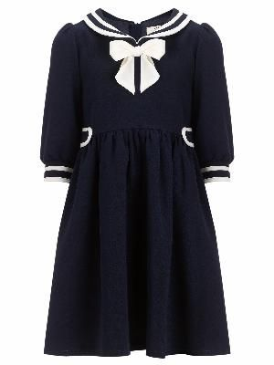 Taking direct nautical inspiration, this Somerset by Alice Temperley sailor dress is perfect for a smart daytime look. The charming piece features str